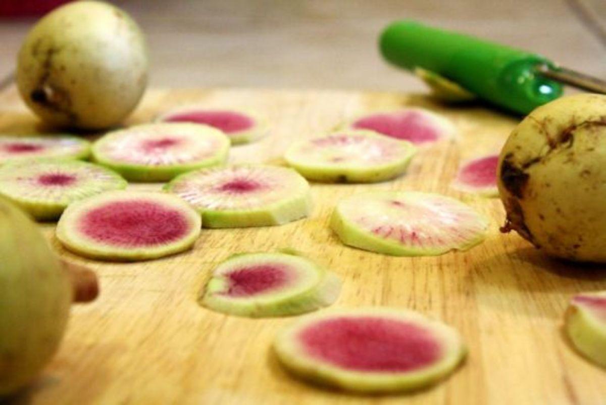 pickled radish board