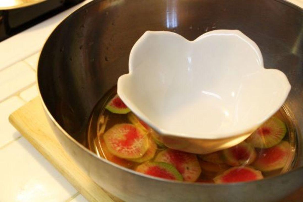 pickled radish bowl