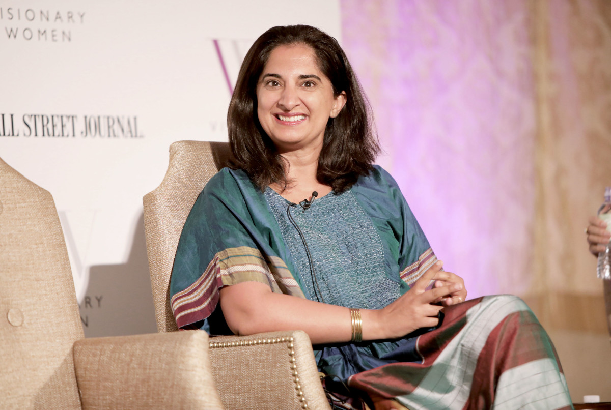 "Mallika Chopra at Visionary Women's ""Mind, Body & Soul,"" Salon, sponsored by GEARYS, The Wall Street Journal and Popcorn Chardonnay"