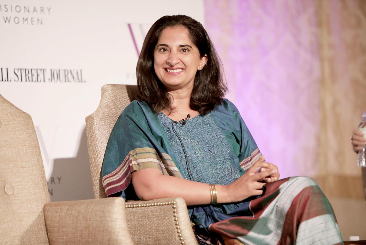 "Mallika Chopra at Visionary Women's ""Mind, Body & Soul,"" Salon, sponsored by GEARYS, The Wall Street Journal and Popcorn Chardonnay"