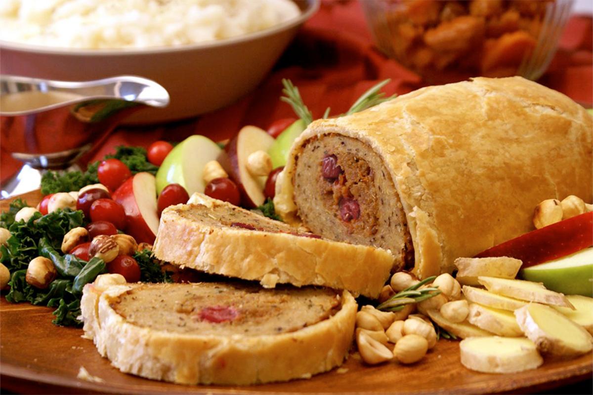 Vegan Thanksgiving Roasts: Field Roast Cranberry and Hazelnut Roast