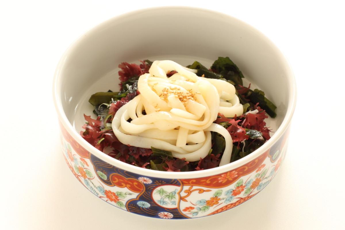 shirataki noodle salad