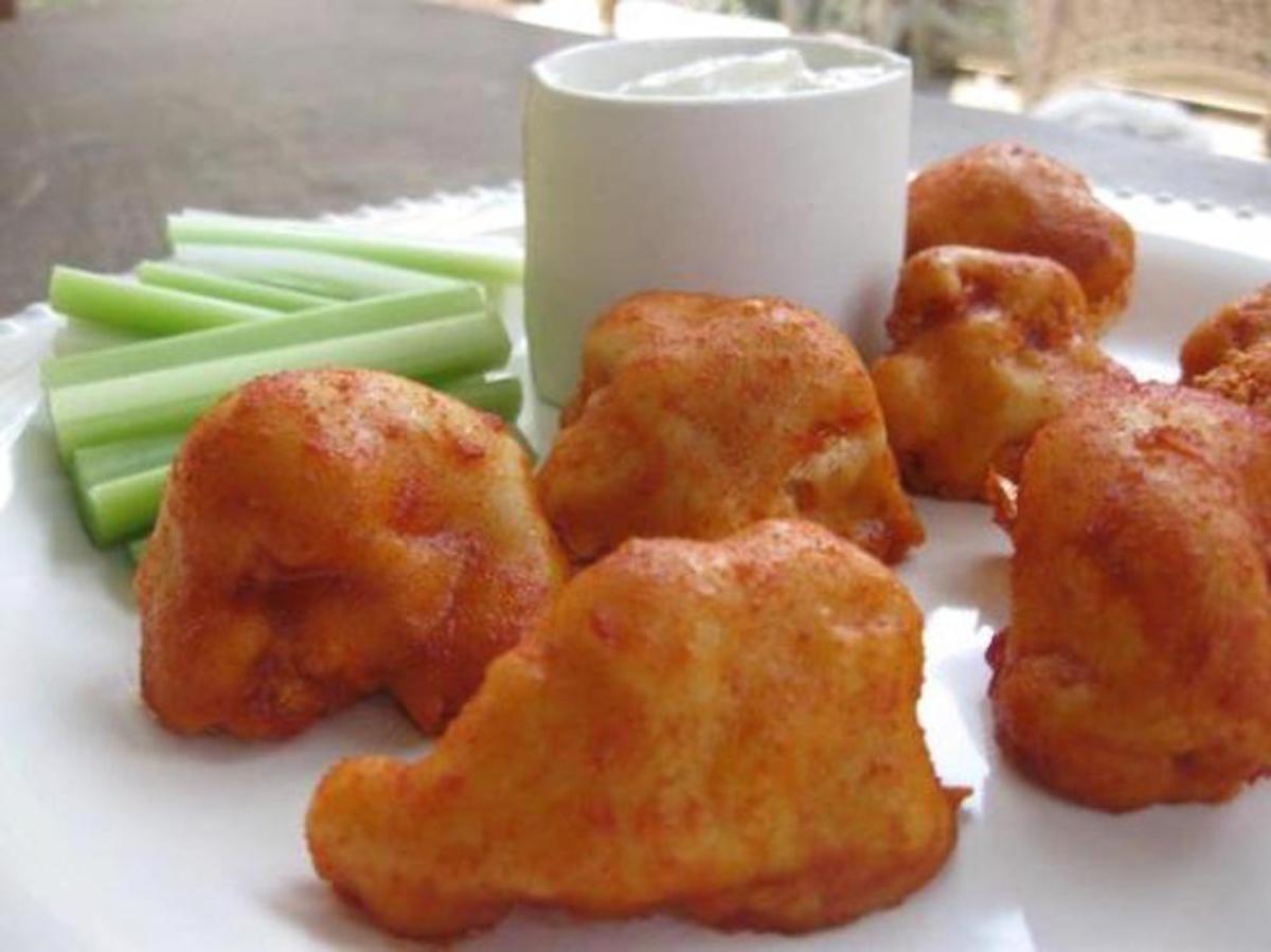 cauliflower hot wings