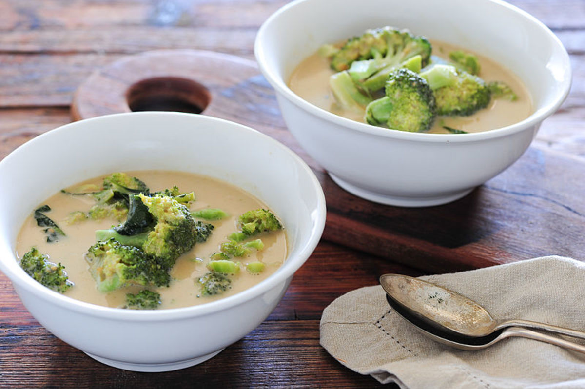 curry broccoli soup