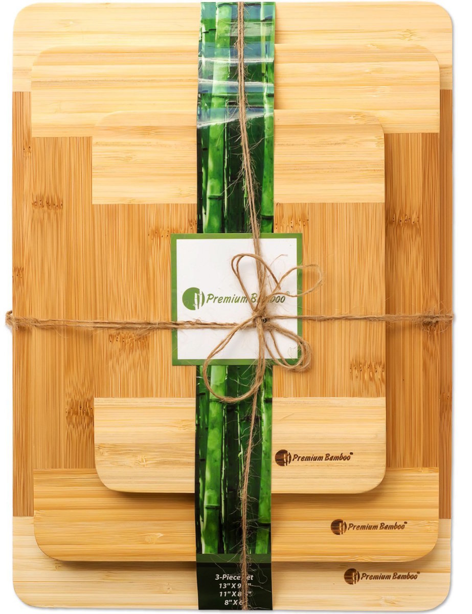 conscious foodie - eco cutting boards
