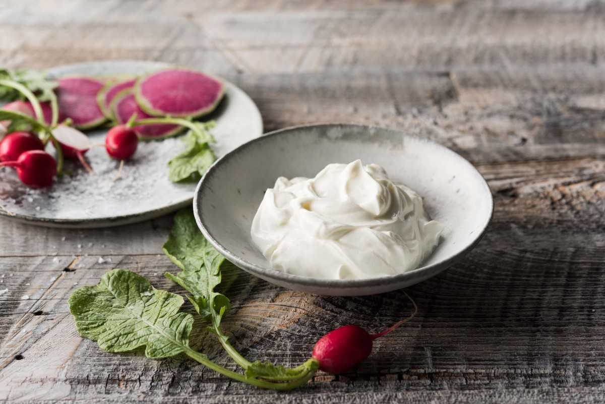 Skyr and Radishes