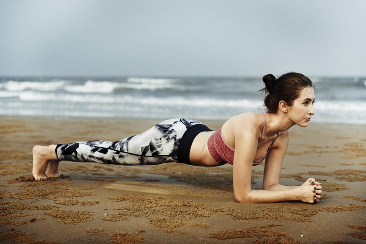 yoga plank photo