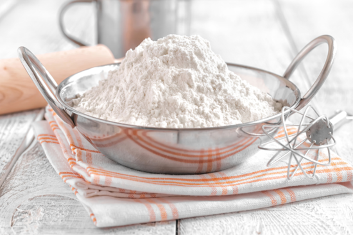 baking powder for leavening
