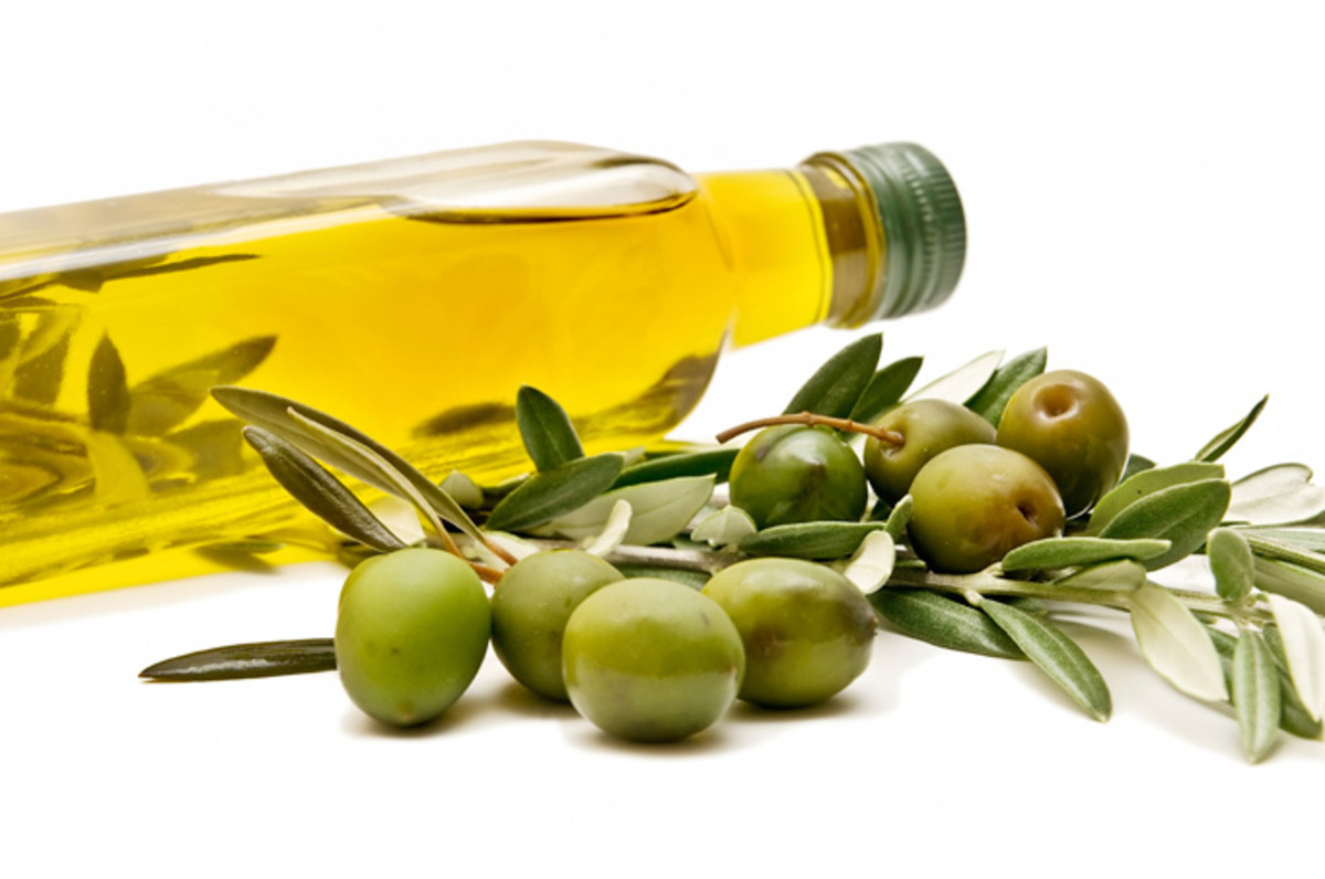 olive oil good fats photo