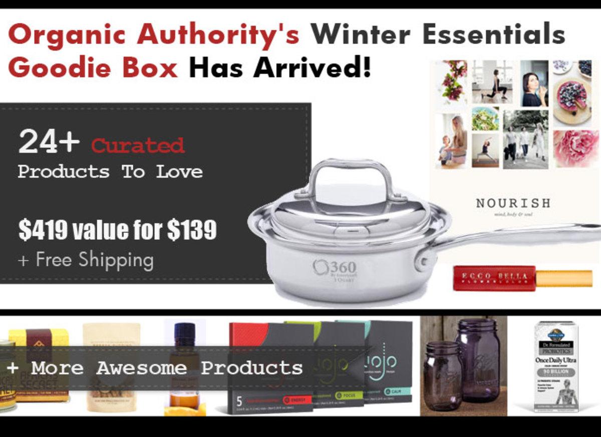 Organic Authority's Winter Essentials 2015 Goodie Box
