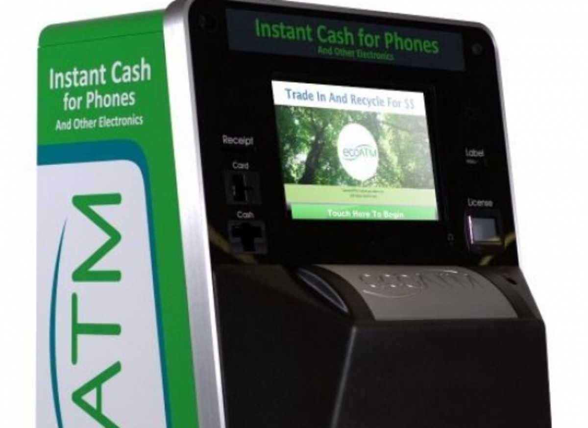 Need Some Quick Cash? Try an Eco ATM for your E-Waste - Organic