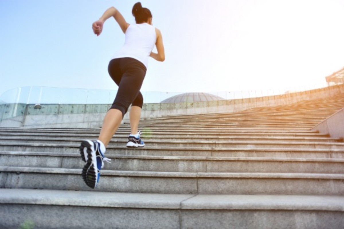 10 Easy Moves to Turn Climbing Stairs into a Workout