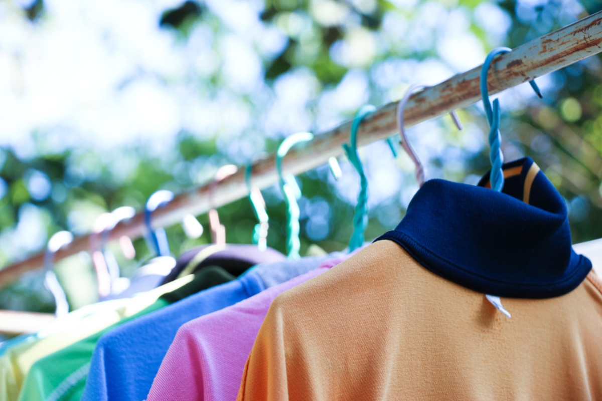 Drying laundry outside is the way to go if you want to avoid high energy bills and clothing wear and tear.