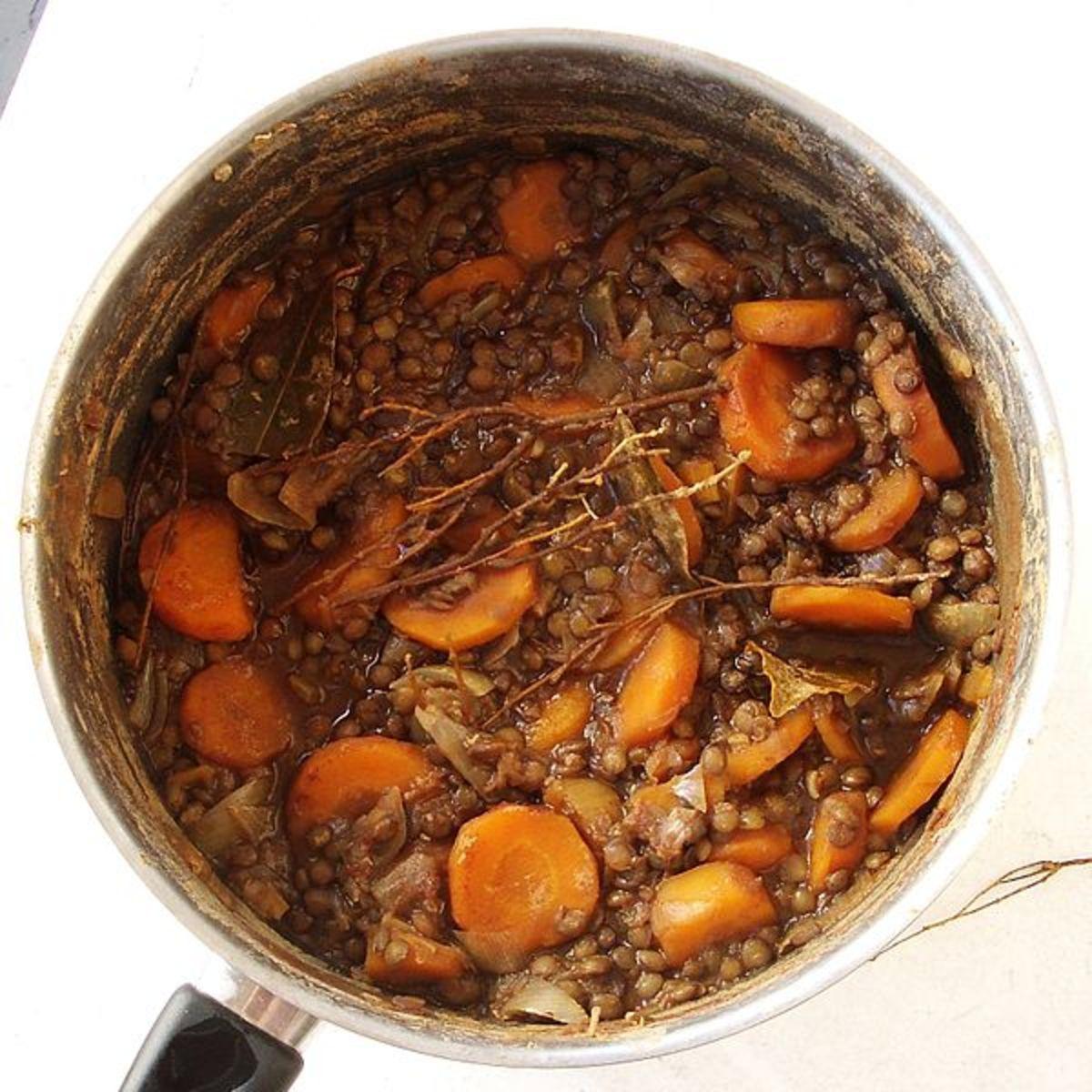 lentil ragù