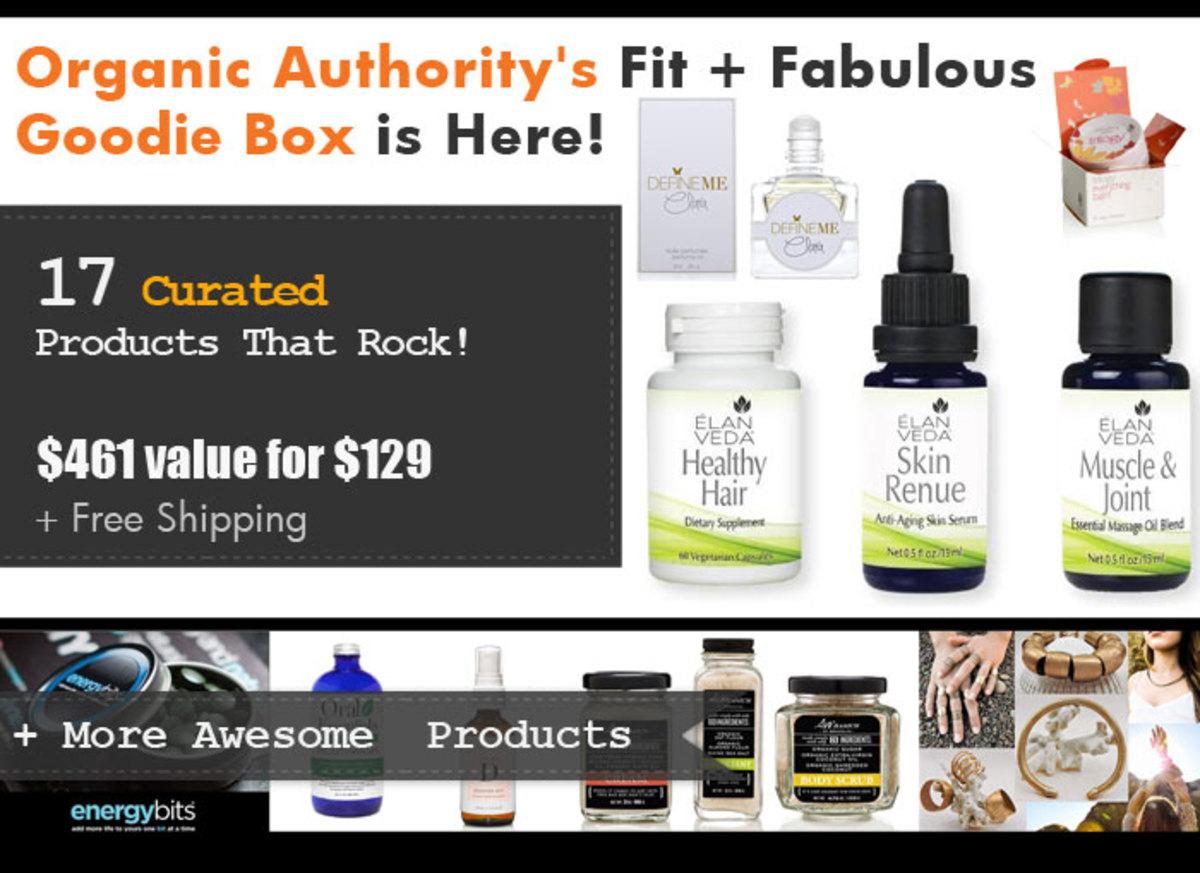 Organic Authority's July 2015 Fit & Fabulous Box