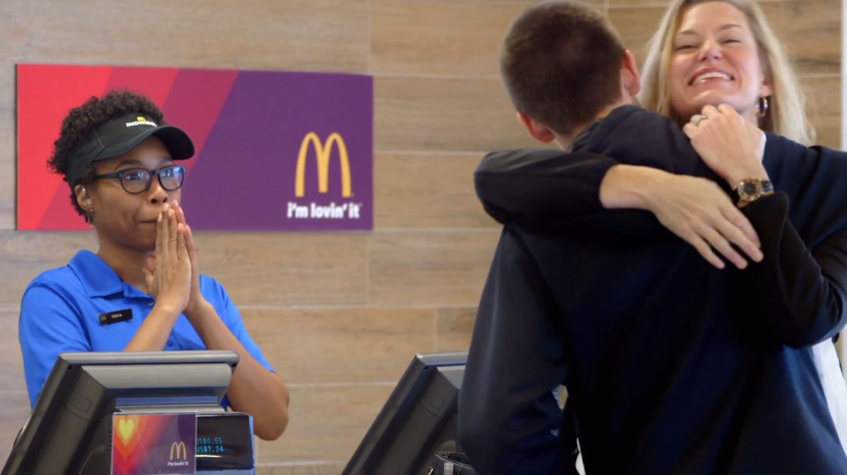 McDonald's Taking Hugs for Big Macs, New Campaign Gives Away Food for Lovin'