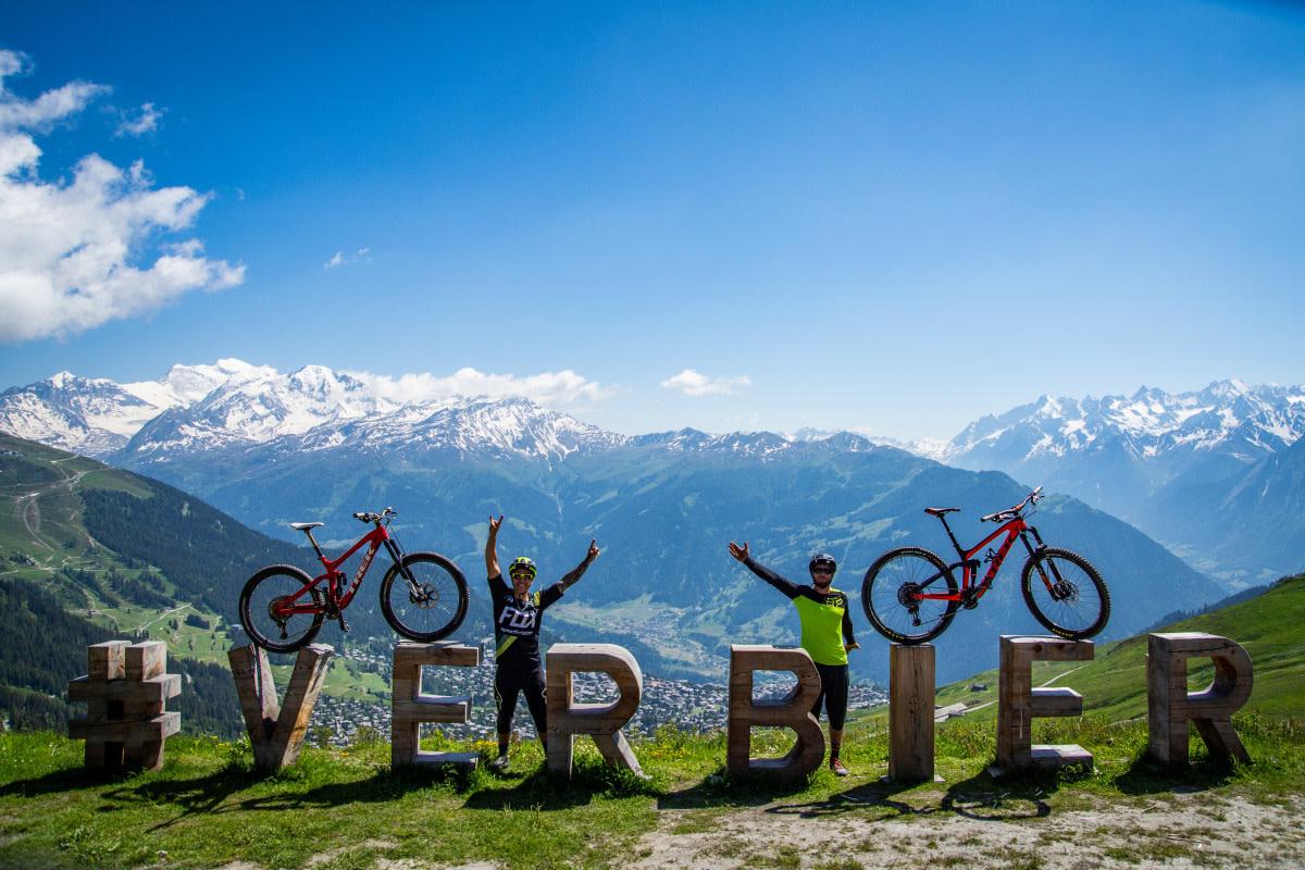 Verbier bike park