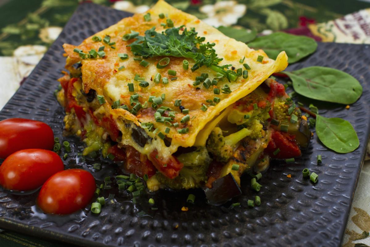 Spring Vegetable Lasagna Recipe: Seasonal Veggies Take this Comfort Food to the Next Level