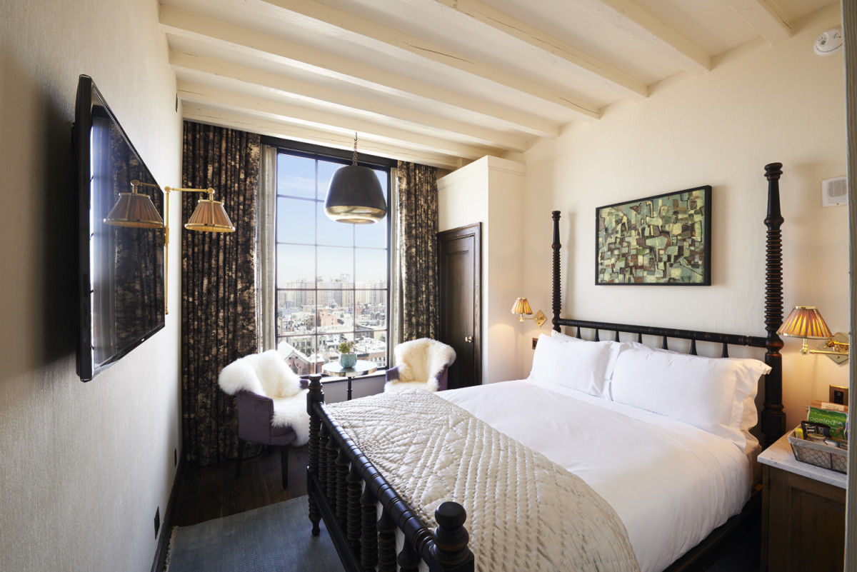 Stay at the Ludlow during a relaxing two-day trip.