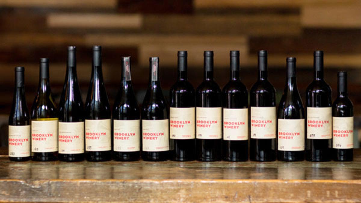 Brooklyn Winery wines.