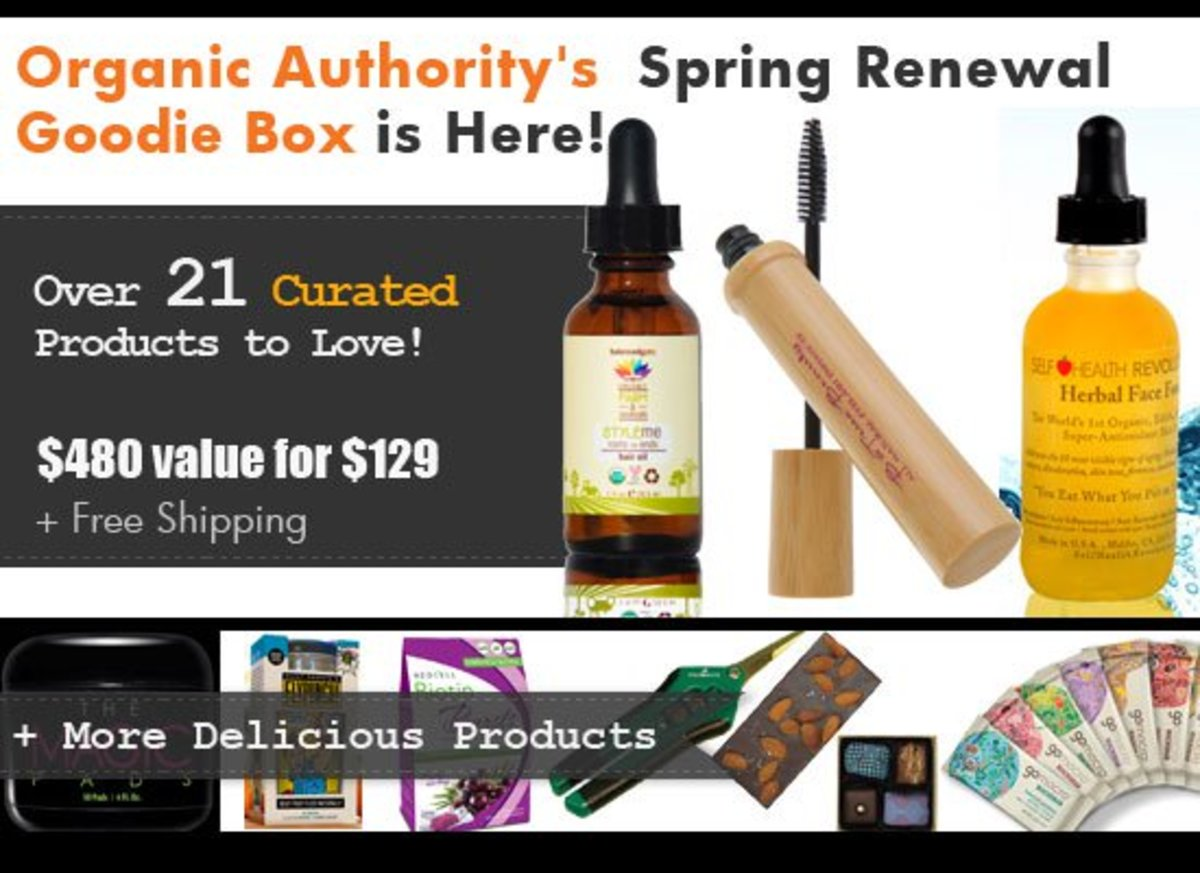Organic Authority's Spring Renewal Goodie Box 2015