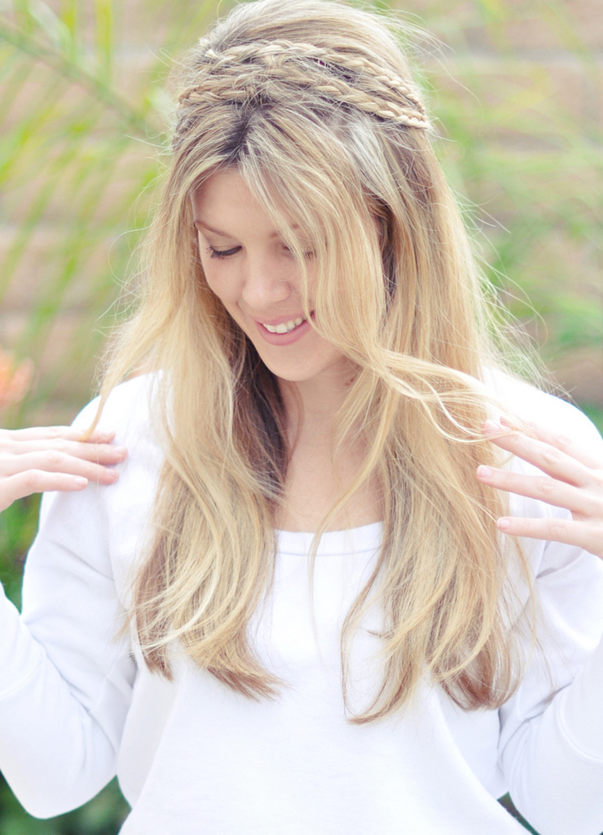 How To Get Natural Highlights Under The Sun Diy Homemade Hair