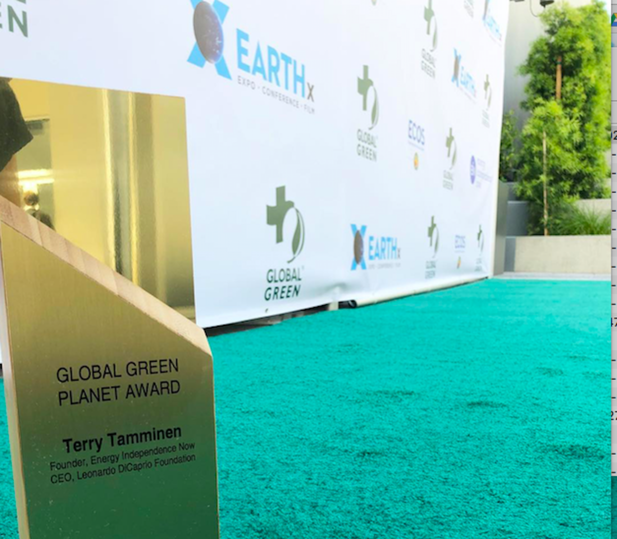 15th Annual Pre-Oscars Global Green Gala Raises Money for Climate Disaster Victims
