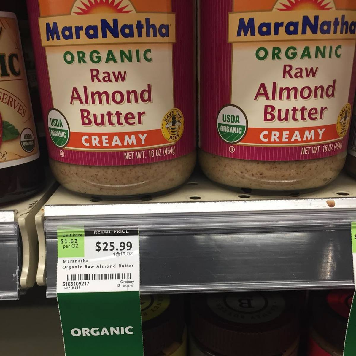 $26 Almond Butter: A Tale of American Food Prices
