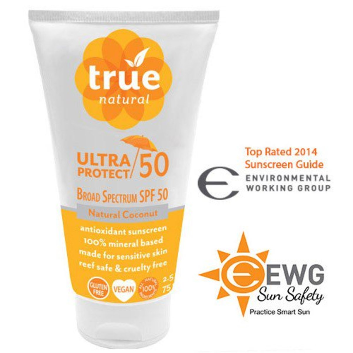 True Natural Ultra Protect 50 Antioxidant Sunscreen