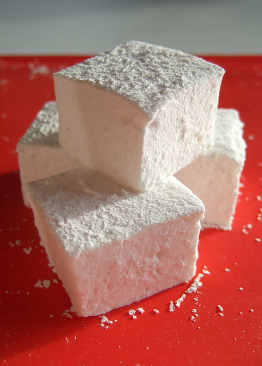 Marshmallow recipes for grownups.