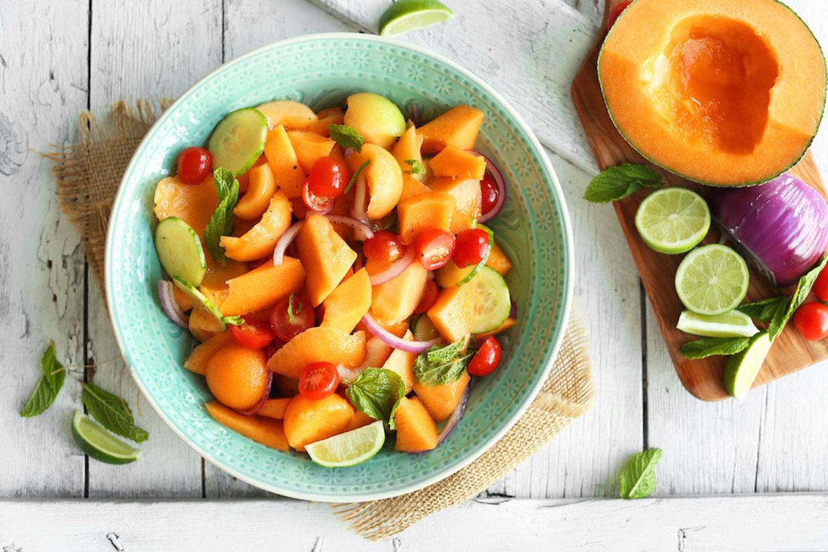 cantaloupe and tomato recipes