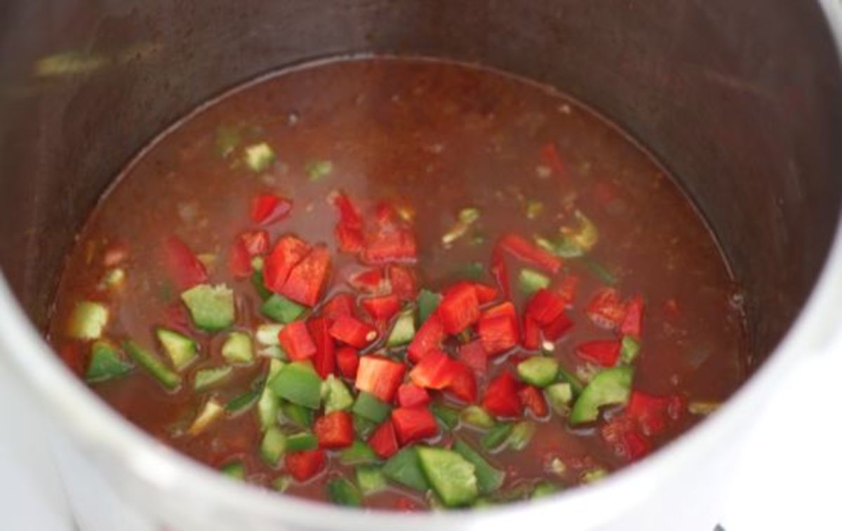 Cooking Vegetarian Chili