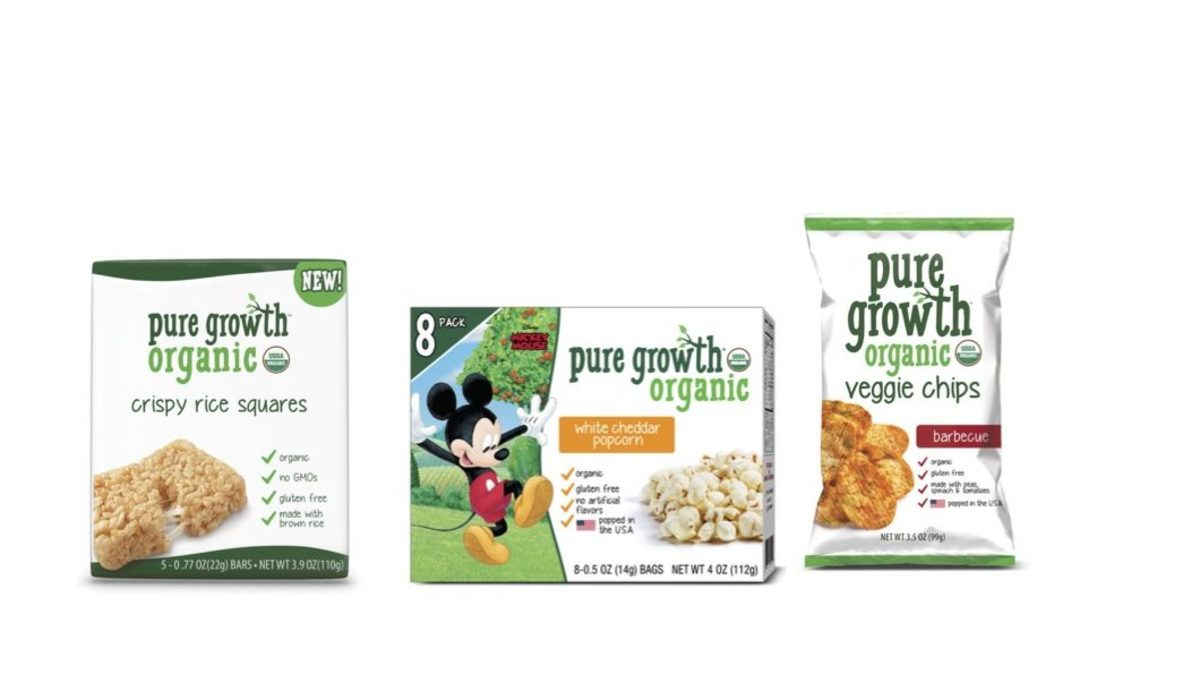 Pure Growth Organic Snacks for Organic Authority