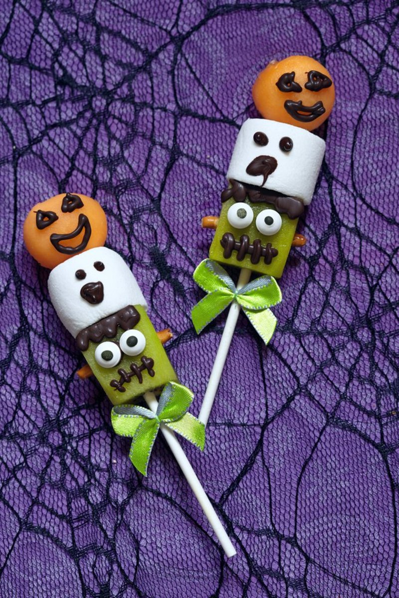 Spooktacular Halloween Recipe: Delicious Frankenstein Marshmallow Pops