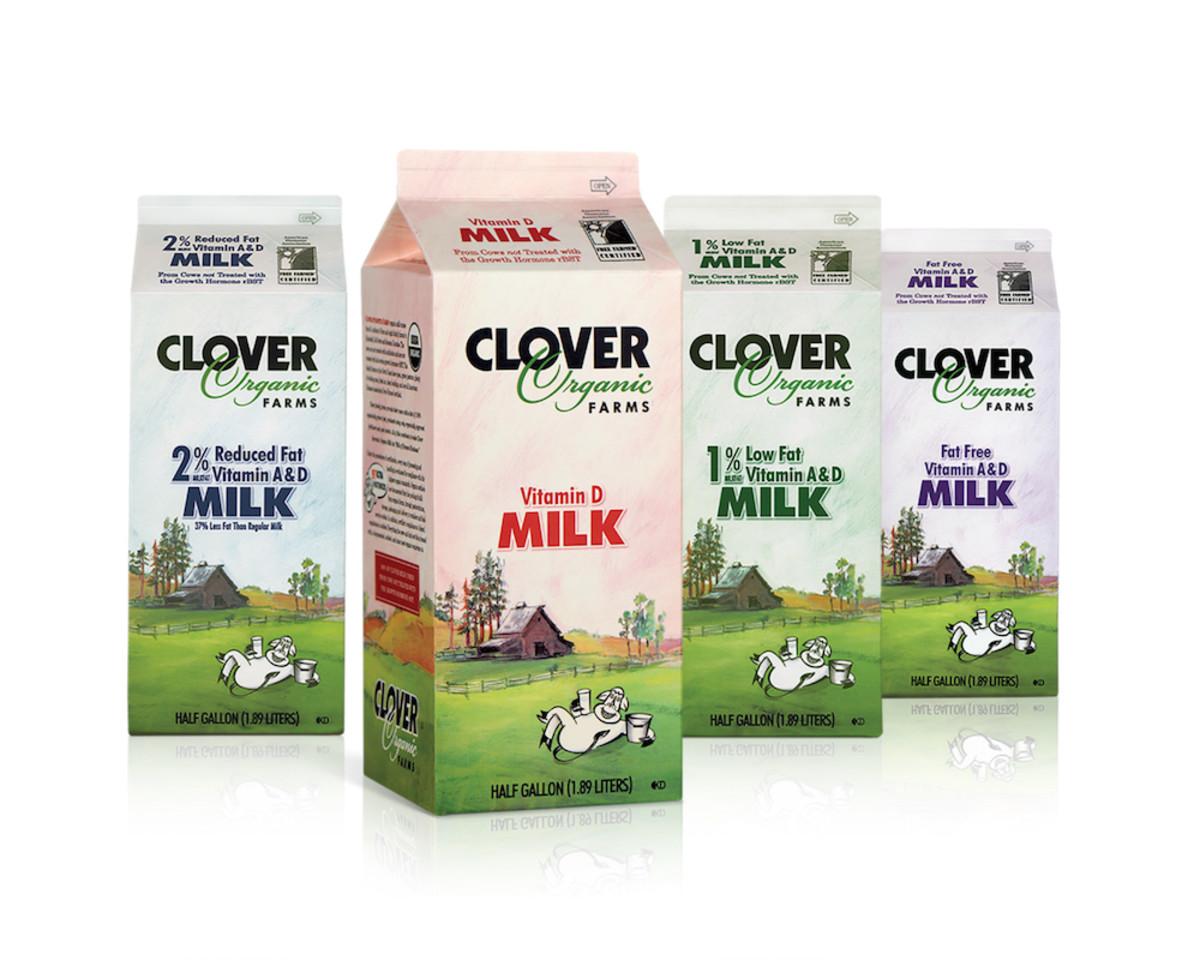 clover to produce new non-gmo milk