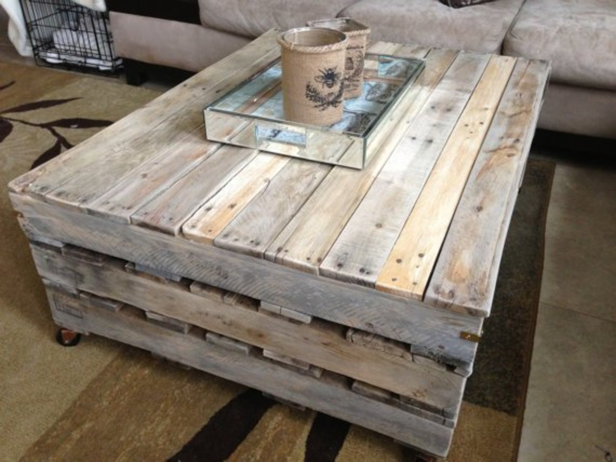 9 diy coffee table projects with clever and gorgeous repurposed style. Black Bedroom Furniture Sets. Home Design Ideas