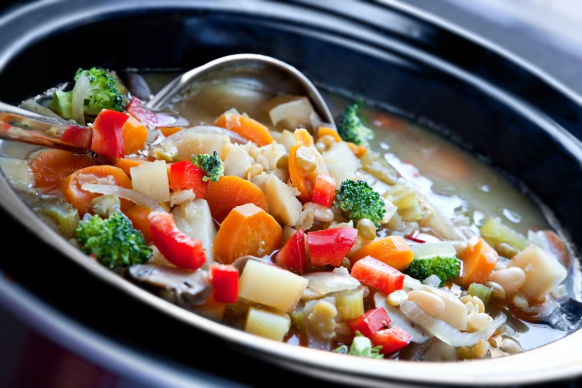Easy vegan slow cooker recipes.