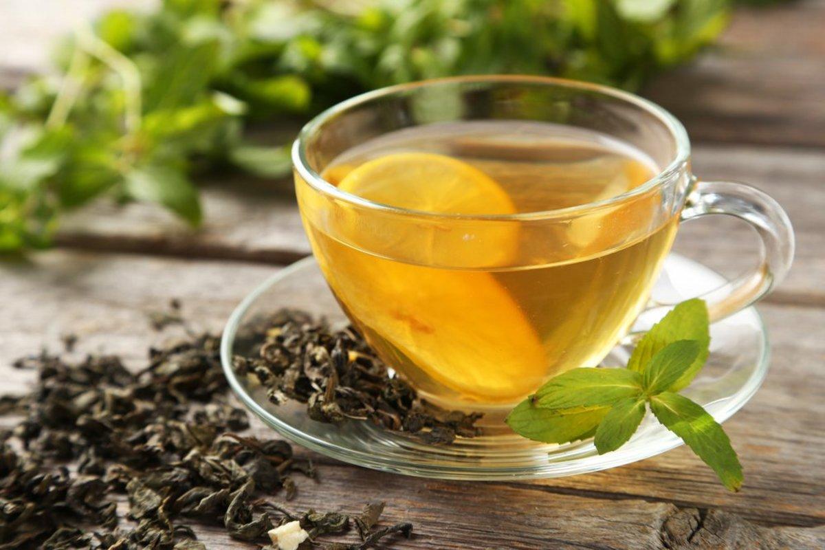 Cara Mengecilkan Perut Setelah dengan teh hijau