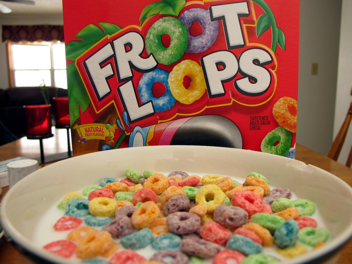 Naturally Flavored Froot Loops...Kellogg's To Remove Artificial Colors and Flavors From Breakfast Foods