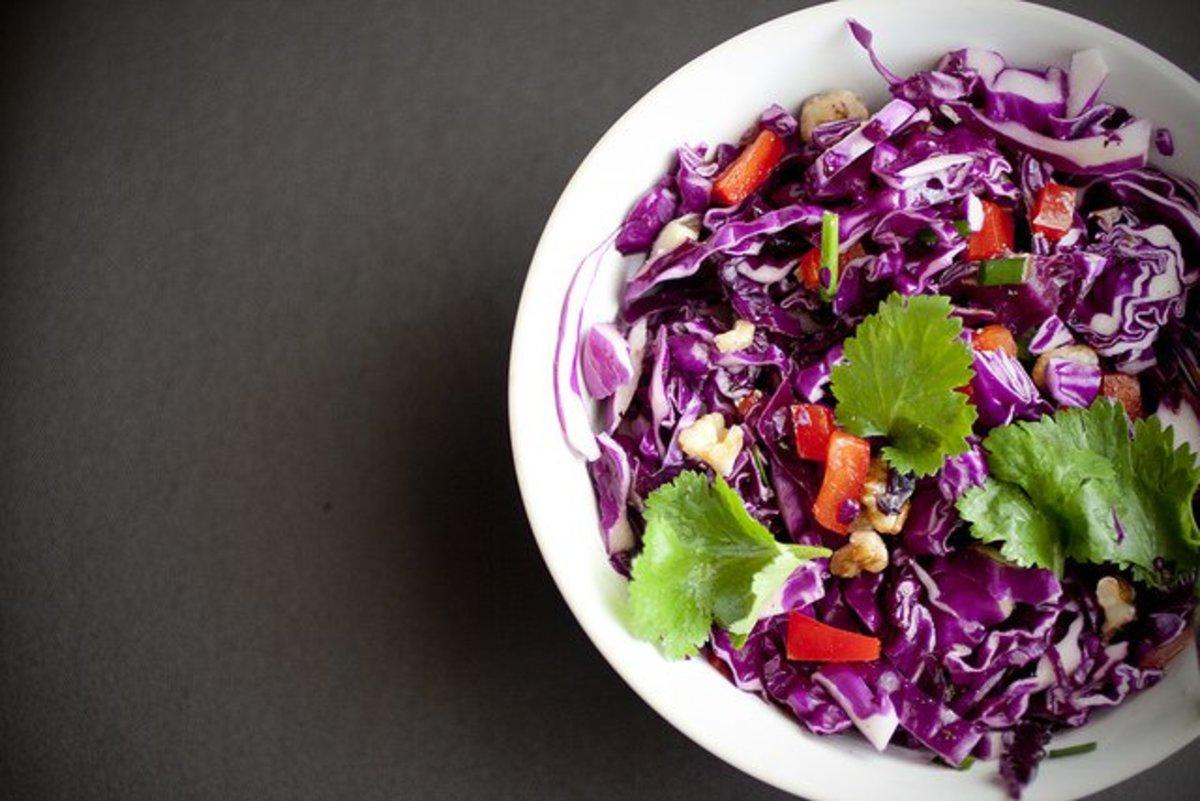 Fresh lunch salad