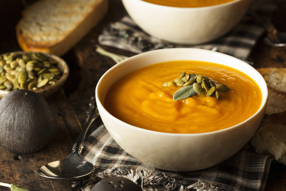The Winter Staple You Can't Live Without: Creamy Vegan Butternut Squash Soup Recipe