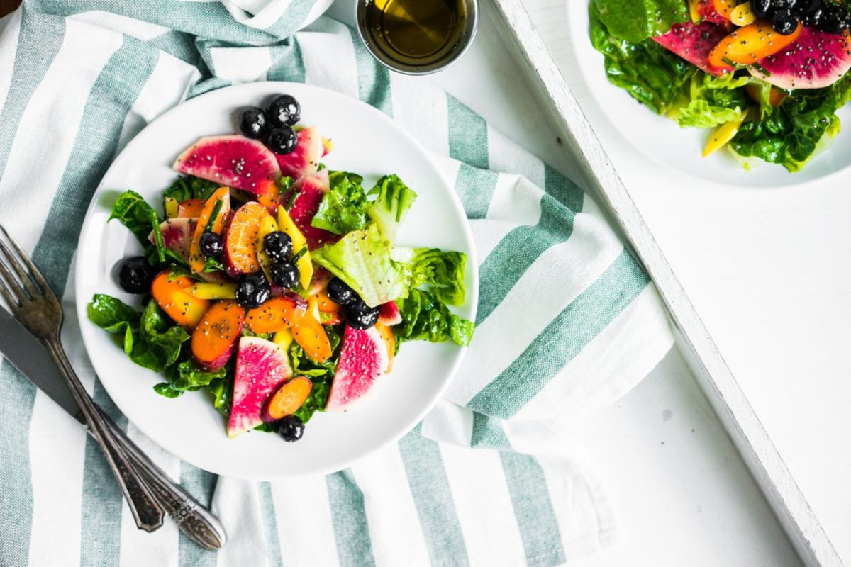 30 minute meals - radish and carrot salad
