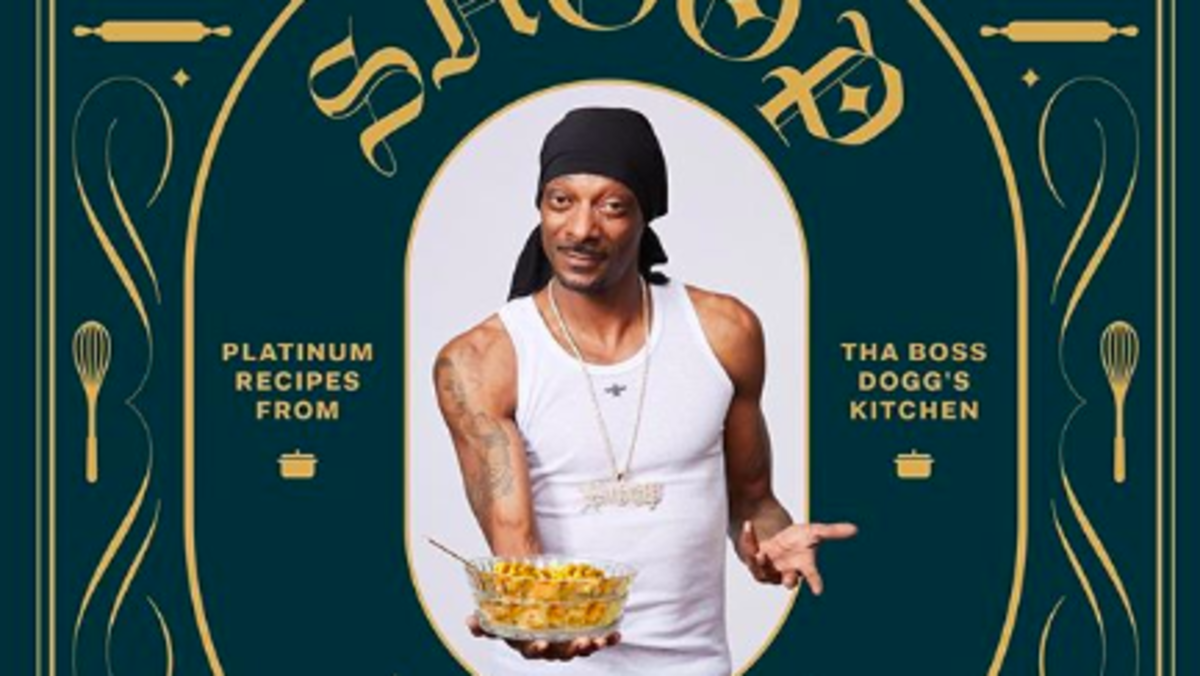 Snoop Dogg Wrote a Cookbook, and It's Not About Weed