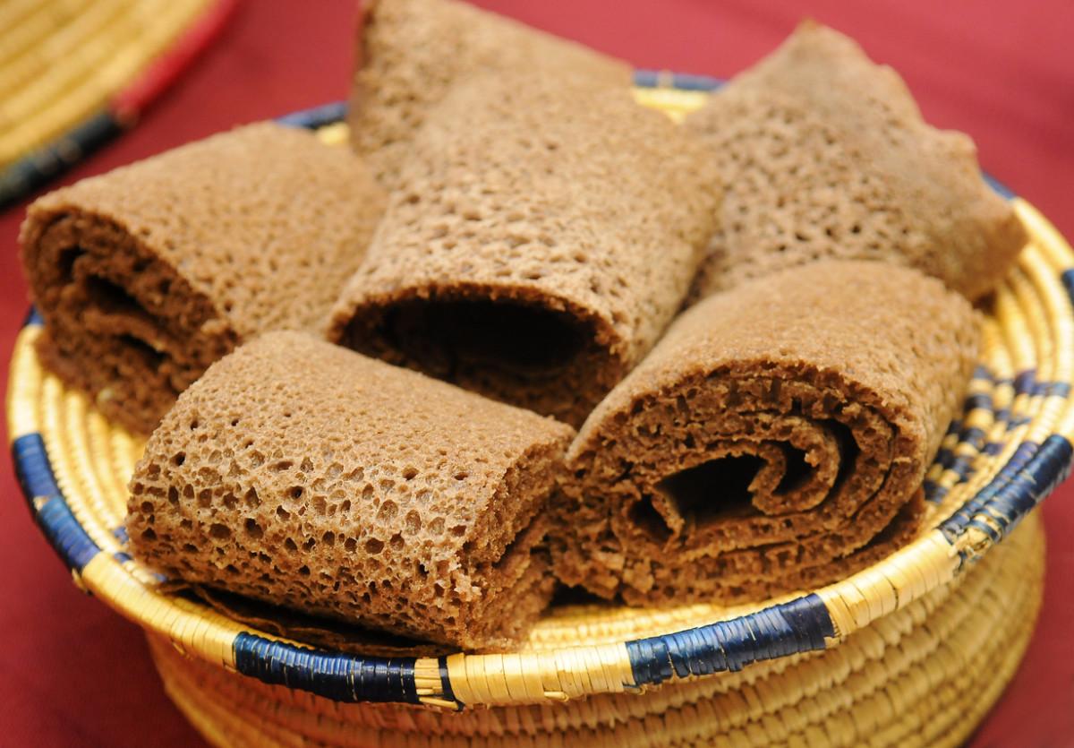 Injera Teff bread