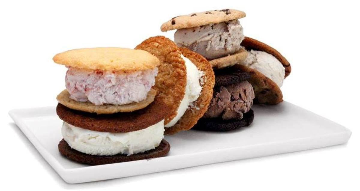 Organic ice cream sandwiches.