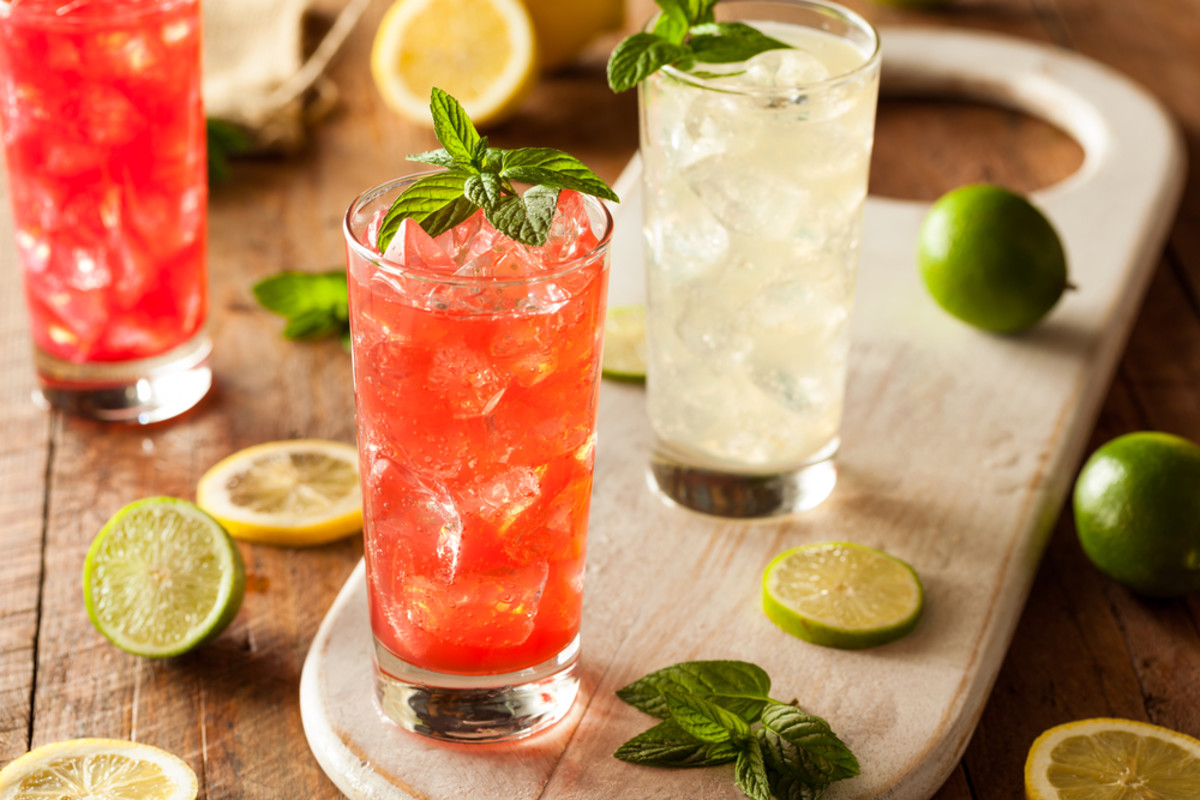 Go booze free with mocktails.