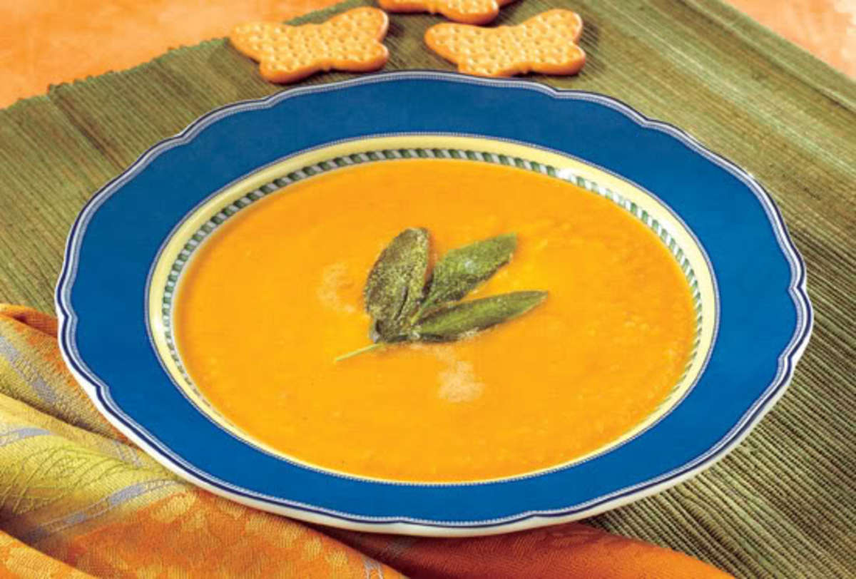 Butternut Squash Soup With Sage - Organic Authority