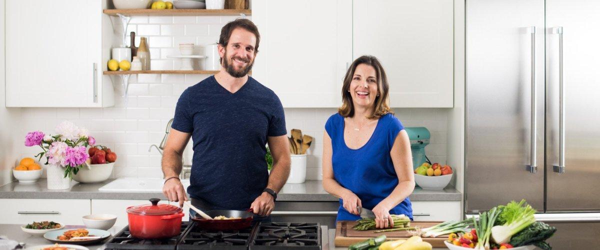 Monica Klausner and Mark Fachler