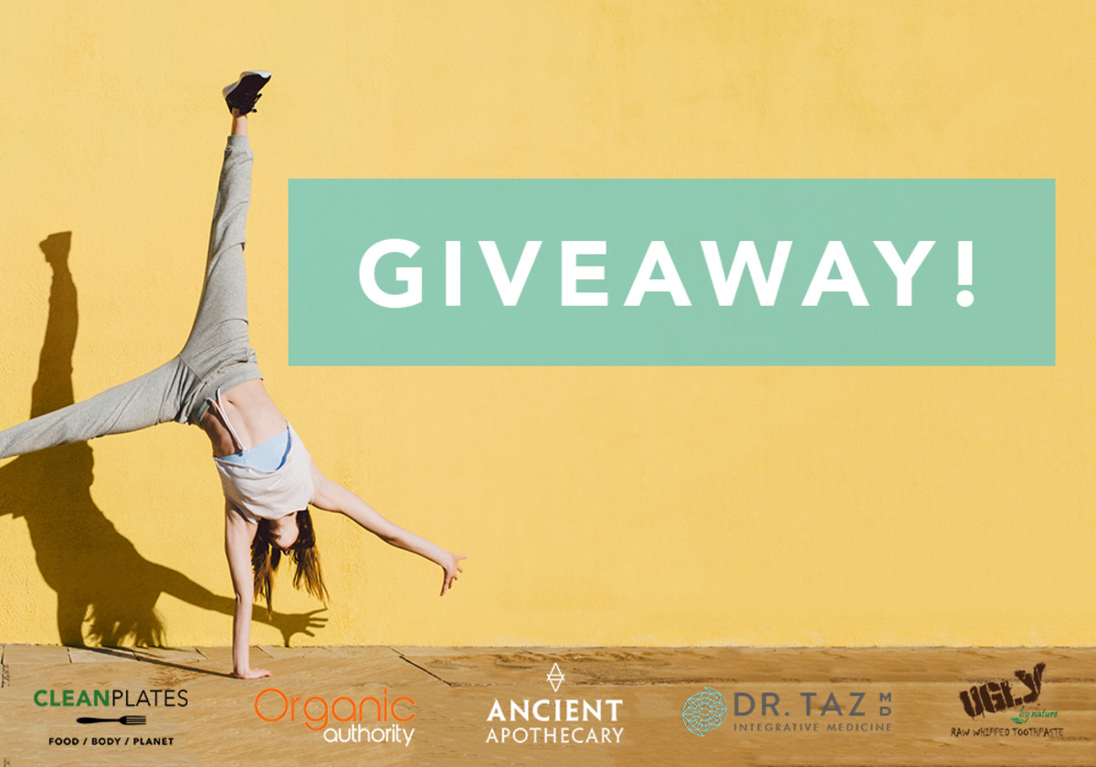 This healthy giveaway will help you start the new year right.