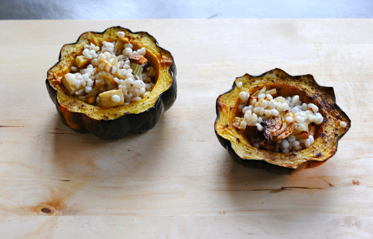 roasted acorn squash recipe